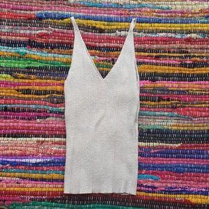 Summer Sweater Tank Crop sz L